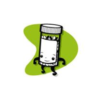 1. Med Bottle walking