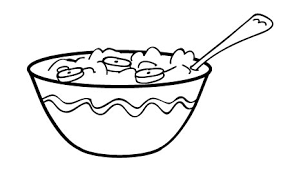 Hot cereal topped with banans