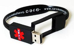 USB Med Alert Bracelet