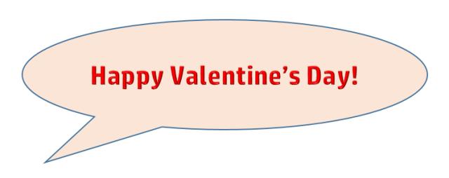 Feb 14.  Happy V-Day