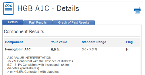 1 LAST A1C RESULT