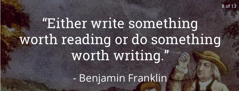 1 Benjamin Franklin